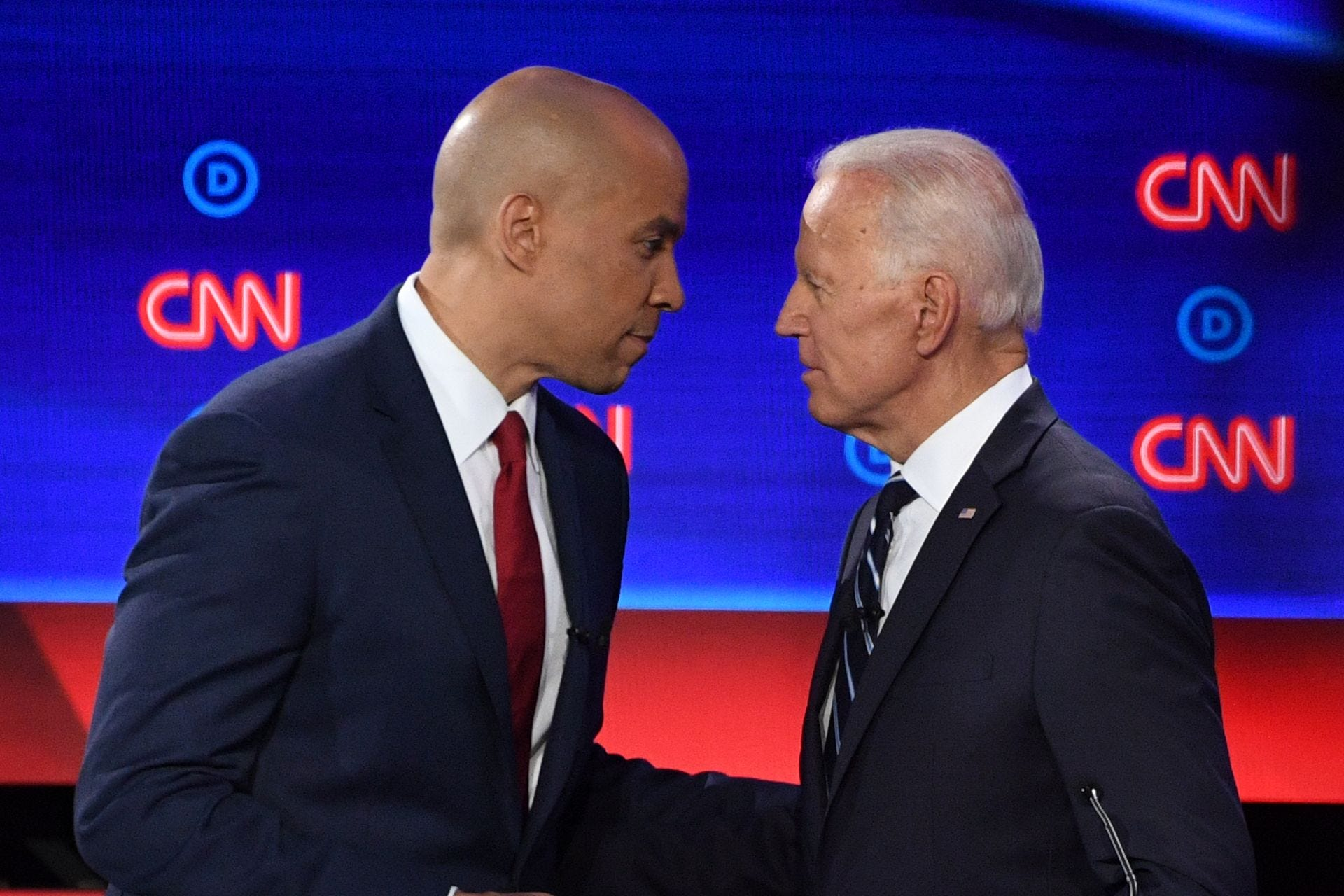 Cory Booker endorses Joe Biden as Democratic candidate for president