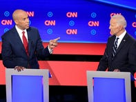 A Kool-Aid clapback: Cory Booker gets spicy at the second night of the Democratic debate