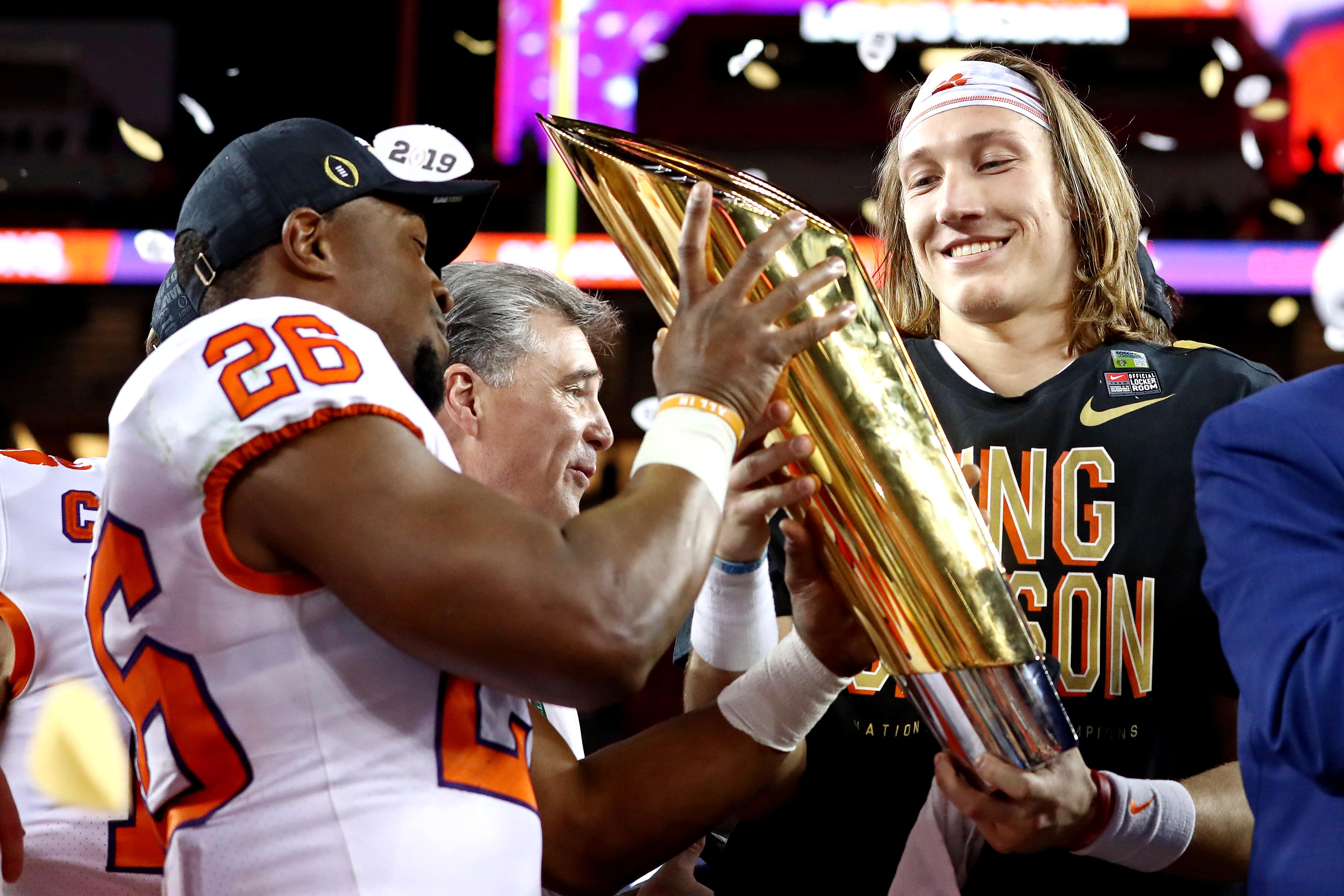 Clemson is No. 1 in preseason Amway Coaches Poll for first time in school history thumbnail