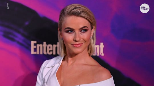 Julianne Hough praised by brother Derek after revealing 'I'm not straight'