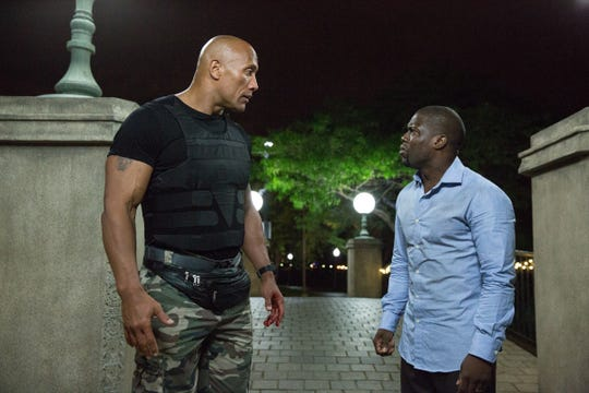 "Dwayne Johnson has starred with Kevin Hart in movies like 2017's ""Central Intelligence."""