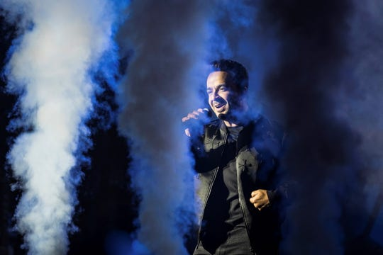 Luis Fonsi performs at Fantasy Springs on Friday.