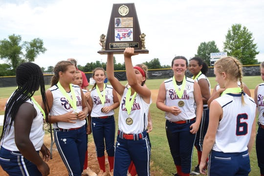 South Carolina won the Ponytails division in the Dixie League World Series for the second straight year after defeating Georgia Thursday.
