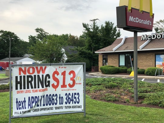 McDonald's on Route 36 in Middletown is hiring.