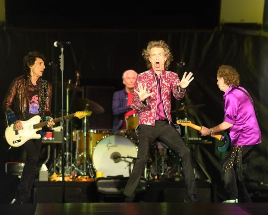 The Rolling Stones perform at MetLife Stadium on Thursday, August 1, 2019.