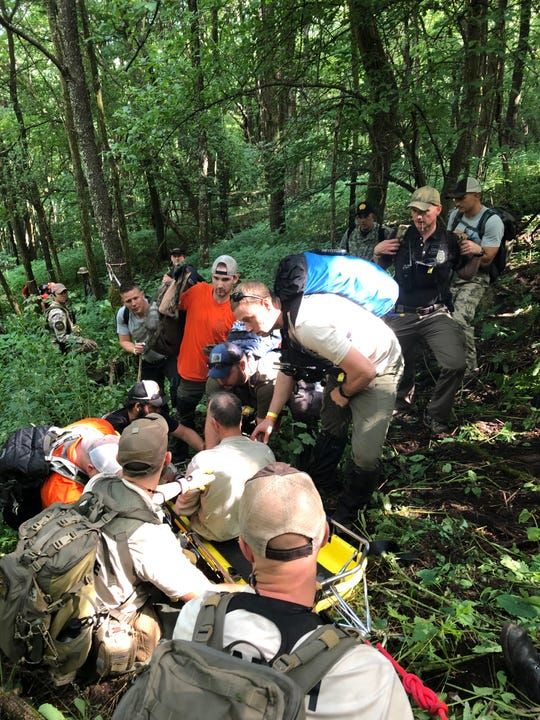 Search and rescue workers in Great Smoky Mountains National Park found Kevin Lynch, 58, alive and well on July 31, after he was missing for five days.