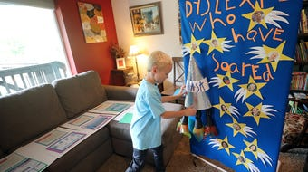 Evan Hempler, 9, wants the world to know what it's like to have dyslexia