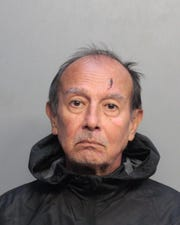 Jaime Sandoval was booked into the Miami Dade County Jail in August 2019.