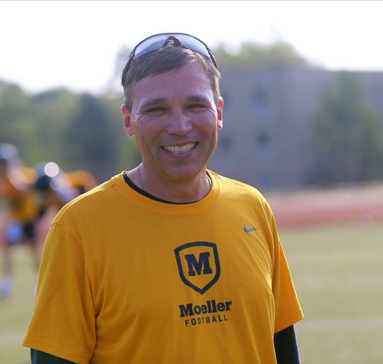 Moeller's new head football coach is Todd  Naumann.