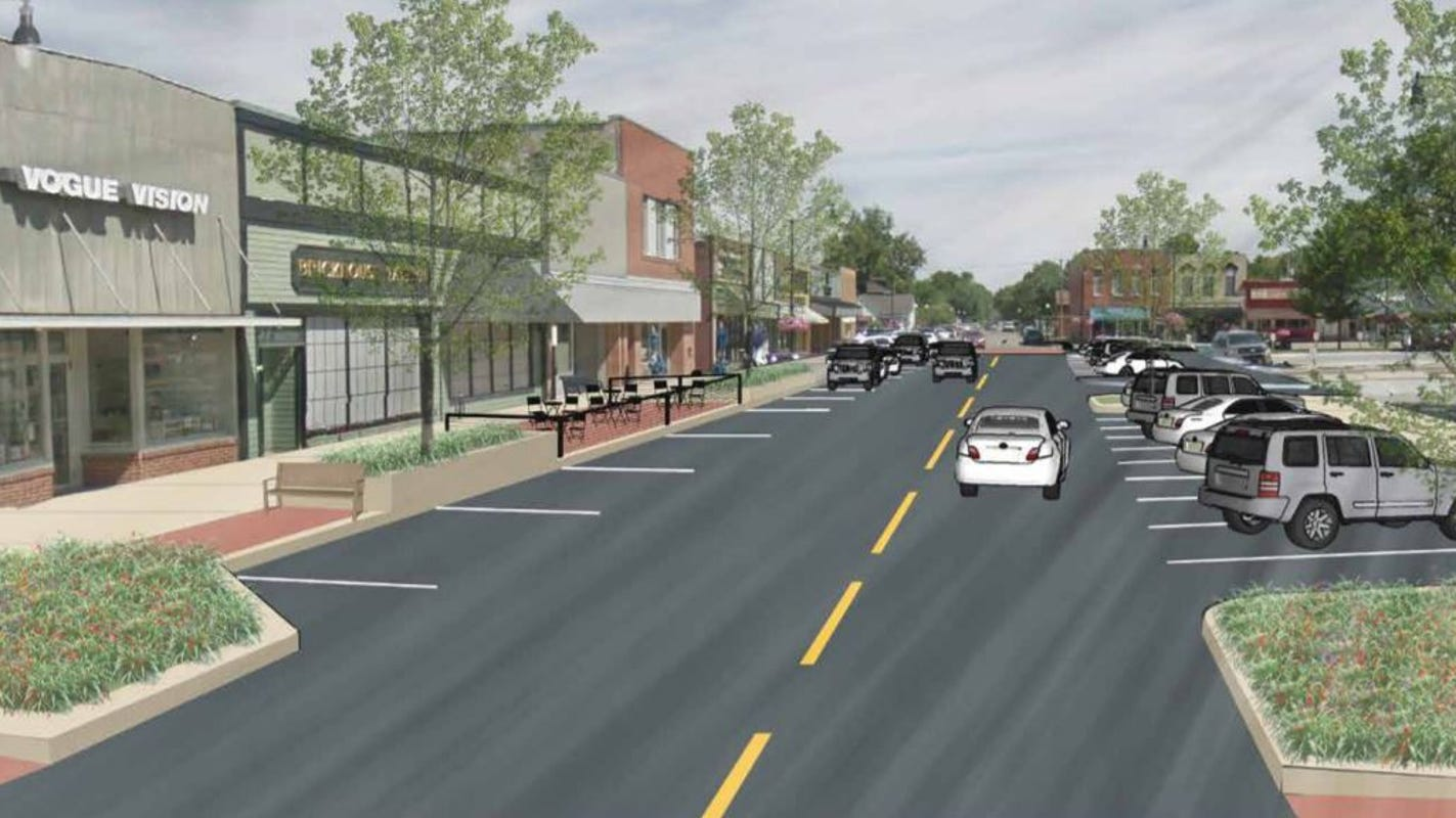 Indianola gets just one bid on its plan to improve its downtown streetscape — $2.7 million over estimates