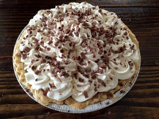 Brittney Haskins of One Sweet Bakery, a Des Moines-based home bakery, is giving away a French silk pie every Friday in August to specially deserving people nominated by others.