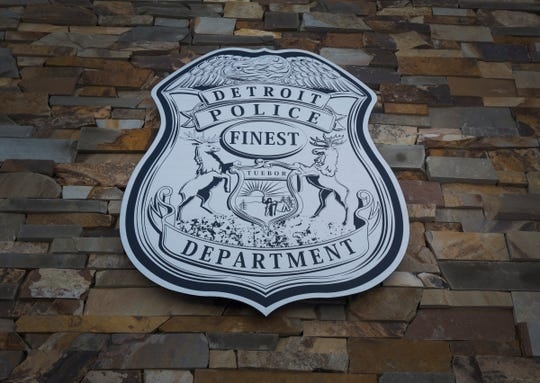 Detroit Police Department's 8th Precinct photographed Thursday Jan. 4, 2018.
