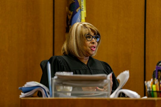 Wayne County Circuit Judge Wanda Evans ordered an evidentiary hearing to be held Aug. 22, during a hearing for Defendant James Chad-Lewis Clay at Frank Murphy Hall of Justice in Detroit on Friday, Aug. 2, 2019. Clay'sattorney filed a motion for a new trial, stating a recent statement by the victim in the case casts doubt on the 2017 conviction.
