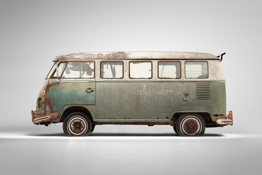 Civil rights leaders Esau and Janie B. Jenkins used this '66 VW Microbus to bring children to school and adults to voter registration in the segregated south.