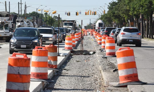The $17 million construction project that began in May will widen the sidewalks, add bike lanes, and improve the street on a 1.5 mile stretch of Livernois called the Avenue of Fashion.