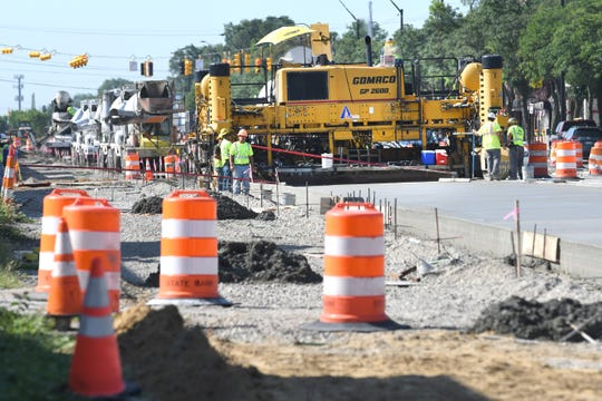 The $17 million construction project that began in May will widen the sidewalks, add bike lanes, and improve the street on a 1.5 mile stretch of Livernois Avenue called the Avenue of Fashion.  But extended construction is taking a deep toll on businesses.