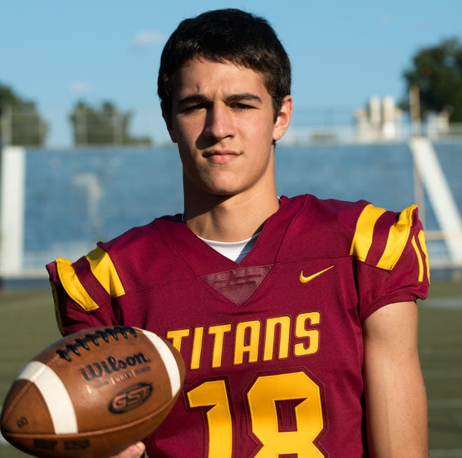 Gibson Southern High School Brady Allen (18) Friday, July 23, 2019.
