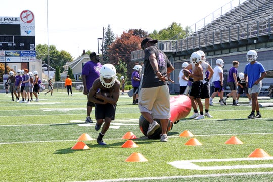 Fremont Ross' footballl team had their opening day of practice for the 2019 season on August 1st.