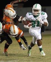 Terrance Moore, a 2014 News-Press Offensive Player of the Year finalist, became the second-leading rusher in program history (3,142 yards) during his senior year in 2014 when the Green Wave went 12-1, won a district championship and a regional championship. He is fourth all-time in touchdowns (32) and is tied for the school record for 100-yard rushing games (17).