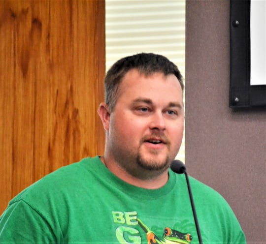 Monte Brink, director of Oconto County Forestry, Parks and Recreaton.