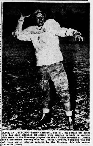 Denny Campbell was a football star at Great Falls Central. But he's known in the Electric City for wrestling.