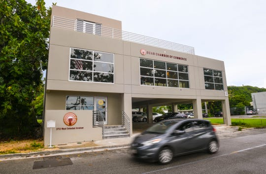 Guam Chamber of Commerce offices in Hagåtña.
