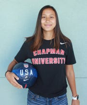 Soccer standout Lily Jose, 17, signed a letter of intent and will attend Chapman University and play Division III soccer.