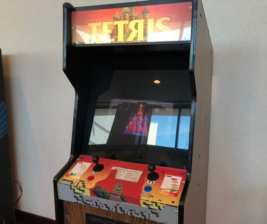 Transport back in time by playing Tetris on this classic arcade machine. The best part? It only costs 25 cents.