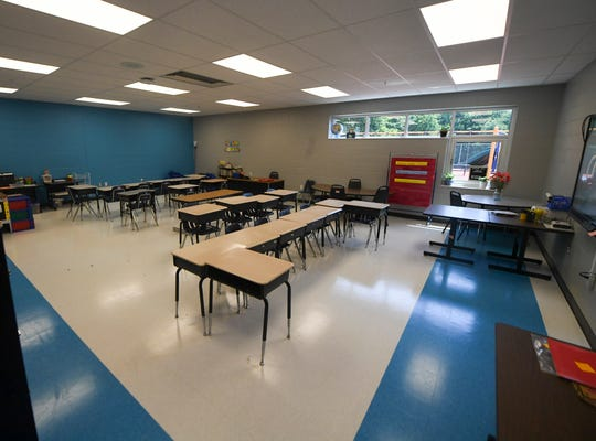 The new Lincoln Elementary School opened its doors to the public, Friday, Aug. 2. The building, which is located partially inside of the old Whitehall Pre-K, has been renovated with a new wing. Classes begin August 5.