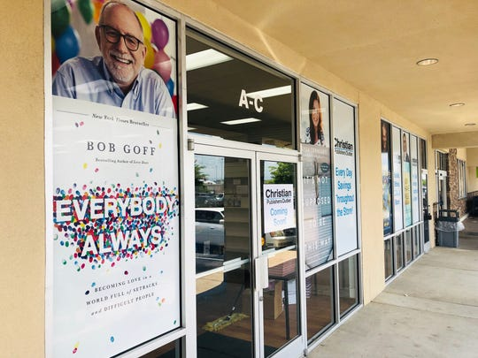 Bob Goff is one of the authors whose books are featured in the store.