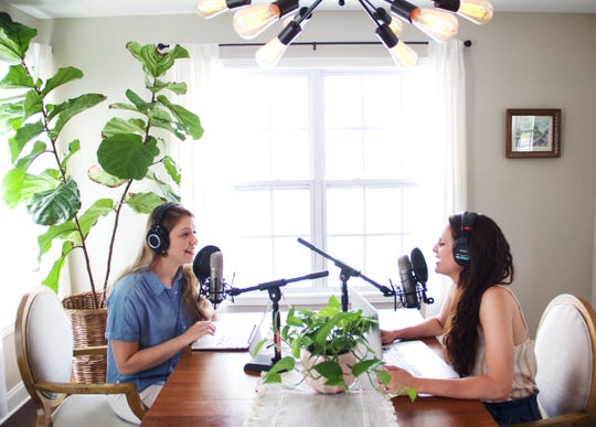 Hosted by Victoria Knight (left) and Caroline Fortenberry, Good News, Sister is a podcast dedicated to the daily struggles of womanhood.