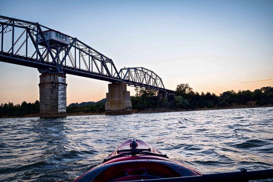 Outdoor adventures await in Clarksville.