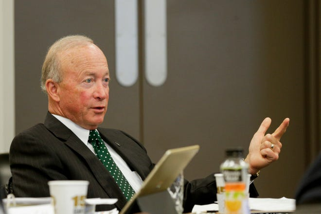 "Purdue president Mitch Daniels has floated a plan to reopen campus in the fall, putting the university at the forefront of efforts to return to in-person classes. ""We have every intention of being on campus this fall,"" he said."