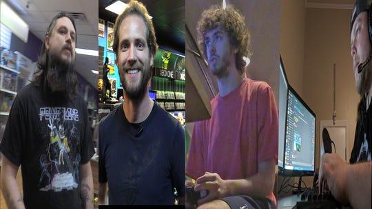 Shane Wicker (left corner), Jeff Pearson (left center), Zie Hebert (right center), and Adam Harris (right corner)