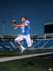 Kentucky QB Walker Wood is from Lexington and in his second season with the Wildcats. His freshman year he practiced with the team.