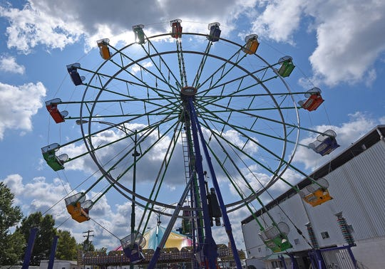 The 2019 Richland County Fair will have plenty of rides, games and foods on the midway.