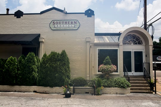 Southern Social, a restaurant housed in the former Elfo's on Germantown Road, features a chef inspired menu and a full service bar, July 17, 2019.