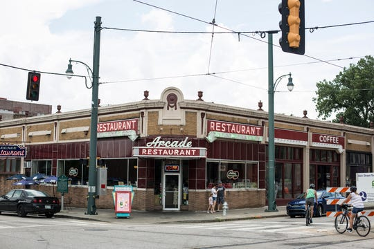 The Arcade Restaurant, pictured here on July 21, 2019. It is celebrating its 100th anniversary on Aug. 24, 2019.