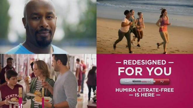 Upbeat television commercials and magazine ads touted the benefits of HUMIRA.