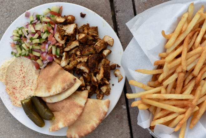 Shwarma is among the traditional offerings at the Jewish Food Festival.