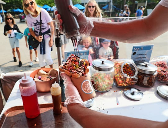 Bubble Waffle Shoppes is one of the food purveyors returning to Milwaukee a la Carte at the Zoo this weekend.