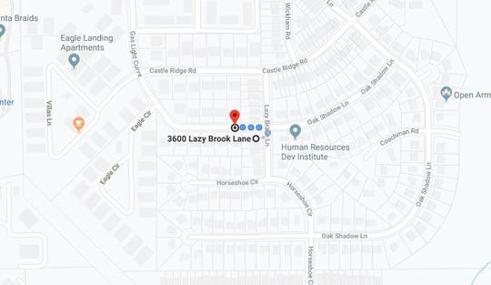 A man suffered a non-life threatening gunshot wound in the 3700 block of Gas Light Curve and was found by officers in the 3600 block of Lazy Brook Lane.