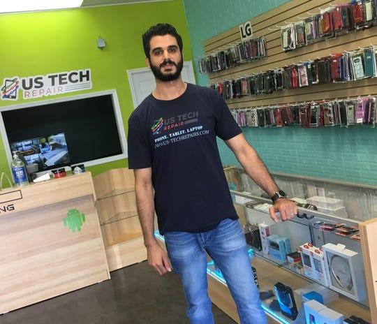 Jordan native Alex Sawaleh owns US Tech Repair in Montgomery.