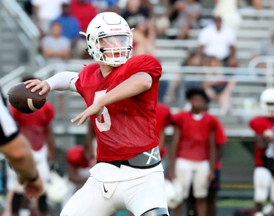 Oakland quarterback Kody Sparks played at an Indiana high school last year that ran the spread offense, so the adjustment has been an easy one for him.
