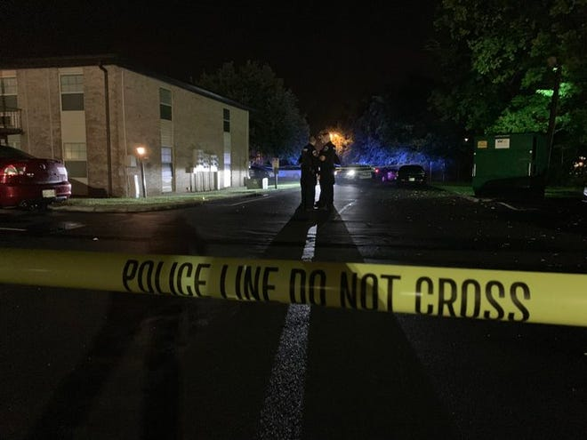 Murfreesboro police investigated a fatal shooting at the Villager Condos early Friday.
