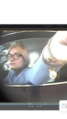 The Licking County Sheriff's Office reports in May, several vehicles were broken into in the Hanover and Marne Road areas. The agency reports a female, who is a person of interest, cashed stolen checks at a local bank.