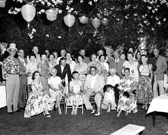 Ruth Hardy's birthday party