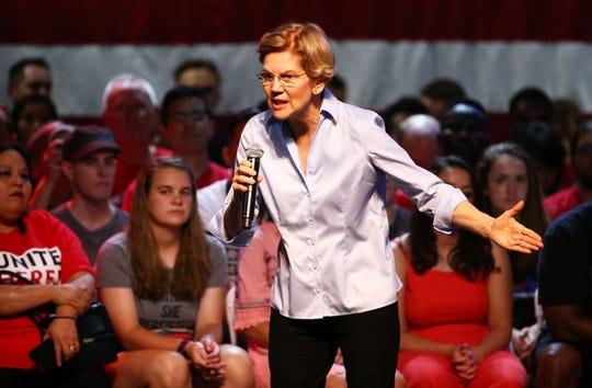 Democratic presidential candidate U.S. Sen. Elizabeth Warren has struggled to gain traction with black voters.