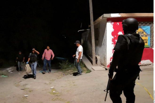 Policías de la Fiscalía de Coahuila abatieron a un migrante hondureño en Saltillo durante la madrugada del jueves.
