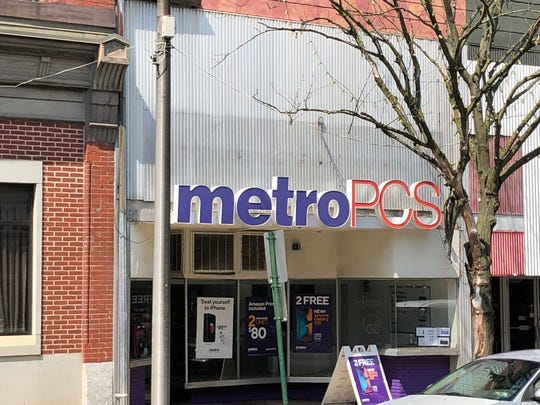 The MetroPCS store at 765 Cumberland St. in Lebanon, which does not have the newest signage indicating the company's merger with T-Mobile, will close once the new store opens.